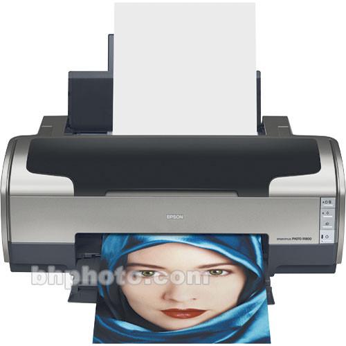 Epson Stylus Photo R1800, Photo Quality, Tabloid Size, Inkjet Printer