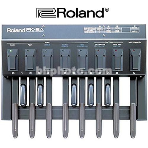 Roland PK-5A - Dynamic MIDI Pedal Board