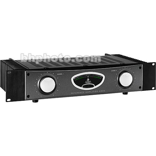 Behringer A500 - 2-Channel Rackmount Ultra-Linear Studio Power Amplifier -  230W per Side at 4 Ohms