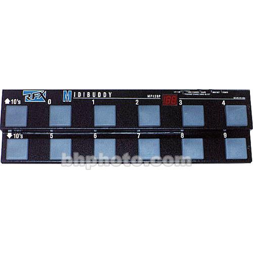 RFX MP-128 - MIDIBUDDY MIDI Pedalboard for Keyboard and Guitar Players