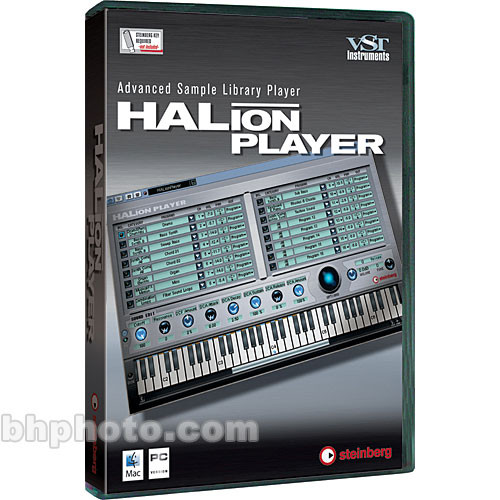 Steinberg HALion Player - Advanced Sample Library Player for Mac OS X and  Windows XP