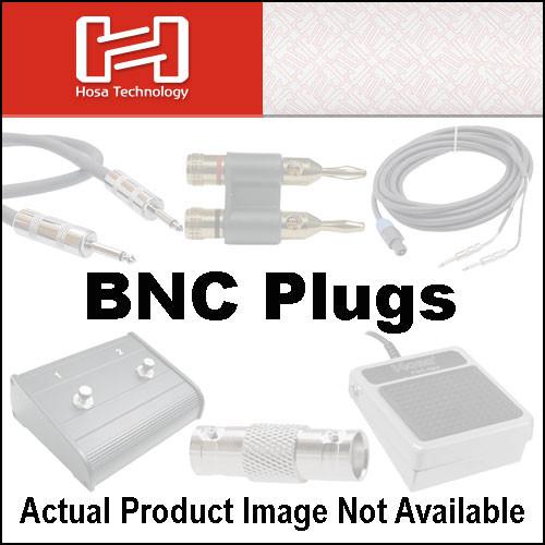 Hosa Technology NBN-258 BNC Male Plugs 2