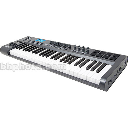 M-Audio Axiom 49 - 49-Key Velocity-Sensitive USB/MIDI Controller Keyboard  with Semi-Weighted Action and Bundled Software