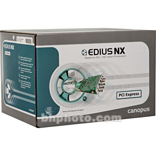 NEW DRIVER: EDIUS NX HDV
