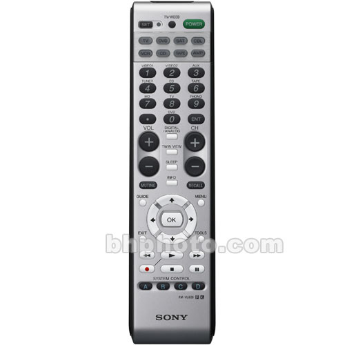 Sony RM-VL600 Universal Remote Control