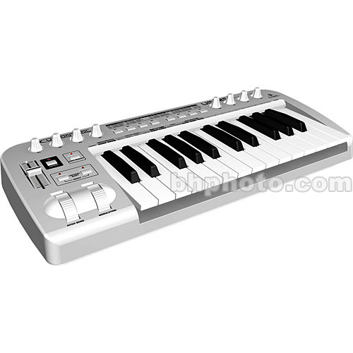 Behringer UMX25 - 25-Key USB/MIDI Controller Keyboard with Included  Software - Mac OS X and Windows XP
