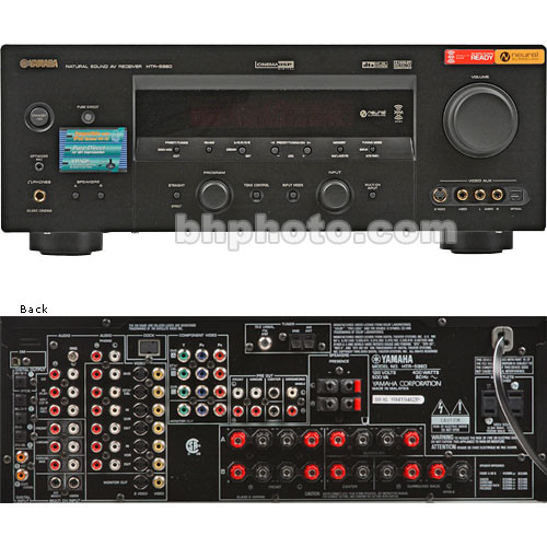 Yamaha HTR-5960 115 Watts per Channel x7, Dolby Digital, DTS and Dolby  PRO-Logic, AM/FM Tuner, XM Satellite Radio Ready - Home Theater Receiver
