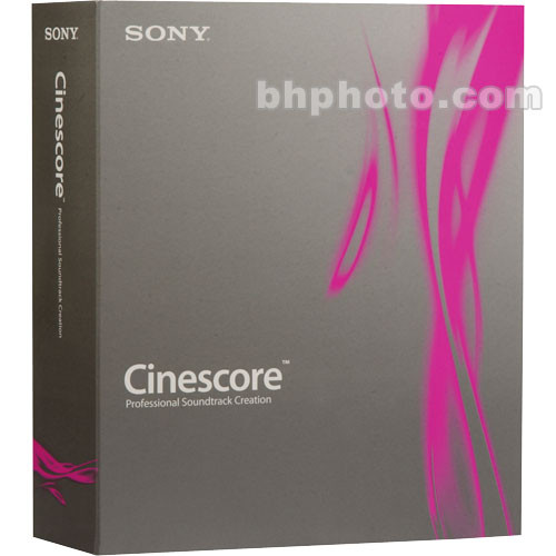 Low Cost Sony Cinescore Software