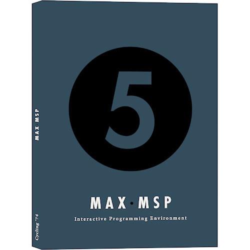 Cycling 74 Max/MSP Software - Programming Environment