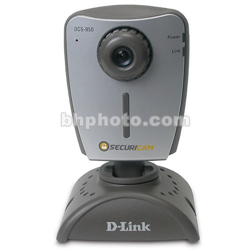 D-Link DCS-950 Network Camera with Microphone and Direct to Hard Drive  Recording