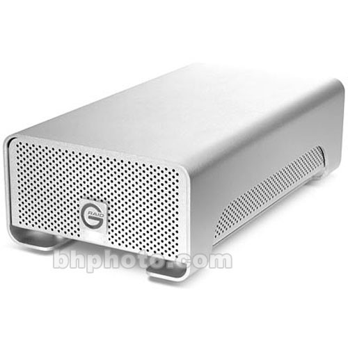 1TB G-RAID2 G-TECH by G-Technology With Power and USB cables.
