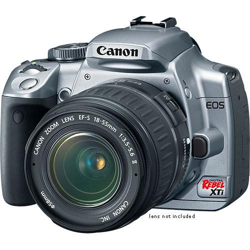 Canon EOS Digital Rebel XTi (a k a  400D) 10 1 Megapixel, SLR, Digital  Camera Body (Silver)