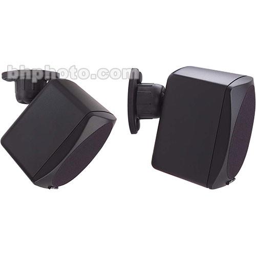 Peerless-AV (PM 732) Universal Wall and Ceiling Speaker Mount (Pair), Model PM-732 (Black)