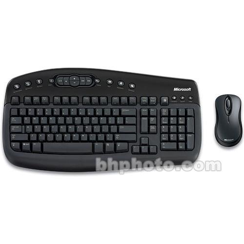 Microsoft Wireless Optical Desktop 1000 - Wireless Keyboard and Optical  Mouse - USB