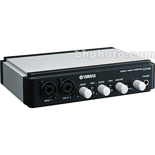 Yamaha GO46 - 4 Input / 6 Output Mobile Audio/MIDI FireWire Interface with  Bundled Software - Mac OS X and Windows XP