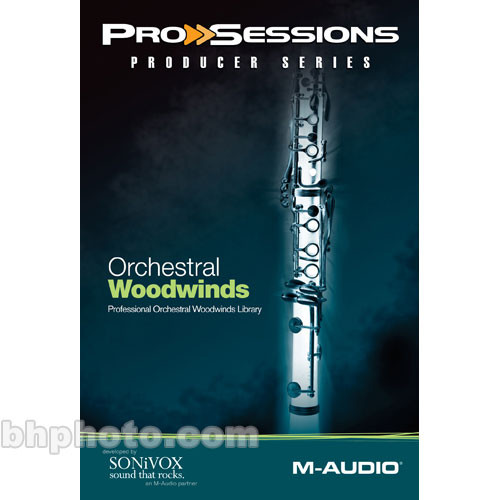 M-Audio Sample CD: ProSessions Producer Series - Orchestral Woodwinds -  Professional Orchestral Woodwinds Library (EXS24, HALion, Kontakt, MachFive