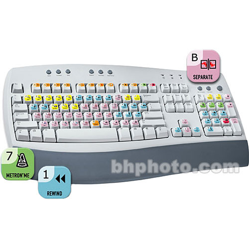 ASK Video Pro Tools Keyboard Set - Shortcut Stickers for PC or Mac Computer  Keyboards