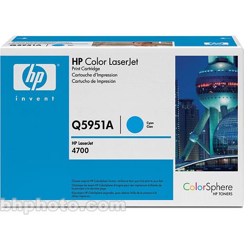 CYAN TONER CARTRIDGE FOR HP Q5951A 643A COLOUR LASERJET 4700 4700dn 4700dtn