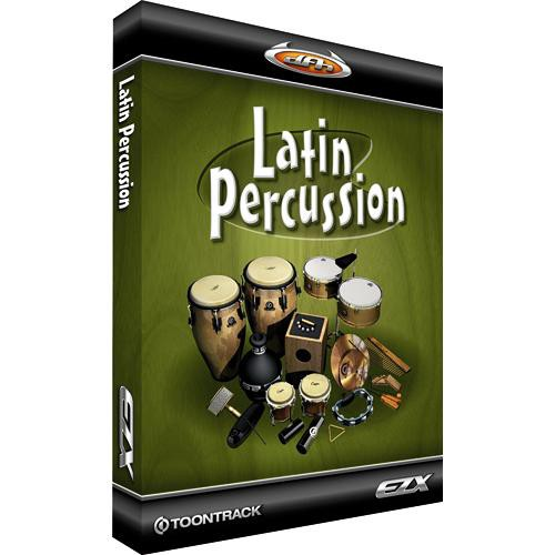 Toontrack Latin Percussion EZX - Expansion Pack for EZ-Drummer Plug-In  Virtual Drum Module