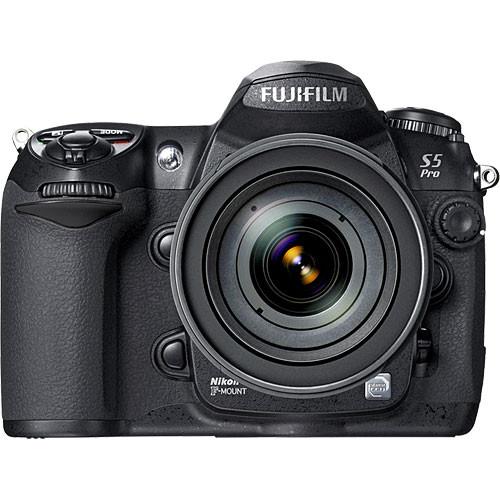FUJIFILM FinePix S5 Pro, 12 3 Megapixel (6 17 million S-pixels & 6 17  million R-pixels), SLR, Digital Camera (Camera Body)