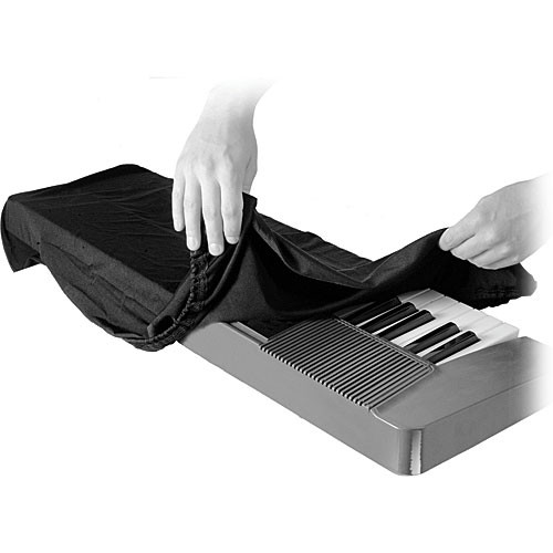 Black On Stage KDA7088B 88-Key Electronic Keyboard Dust Cover