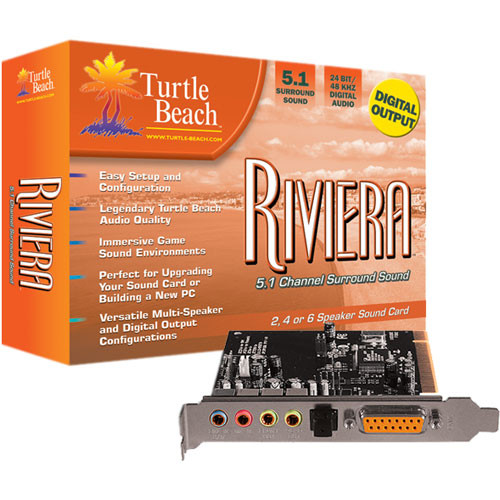 TURTLE BEACH RIVIERA TREIBER WINDOWS XP