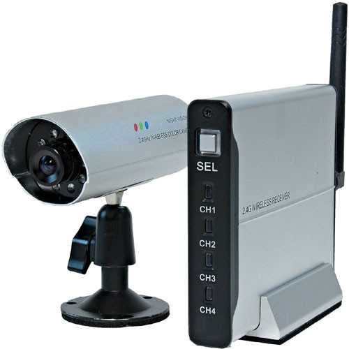 Lorex SG8840 2 4GHz Wireless Color Video System with Rechargeable Battery