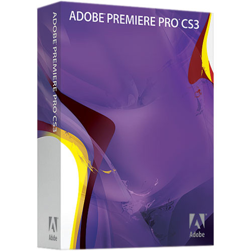 Adobe Premiere Pro CS3 Video Editing Software for Mac