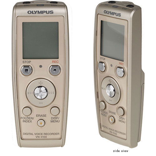 OLYMPUS DIGITAL VOICE RECORDER VN 4100PC DRIVERS FOR MAC DOWNLOAD