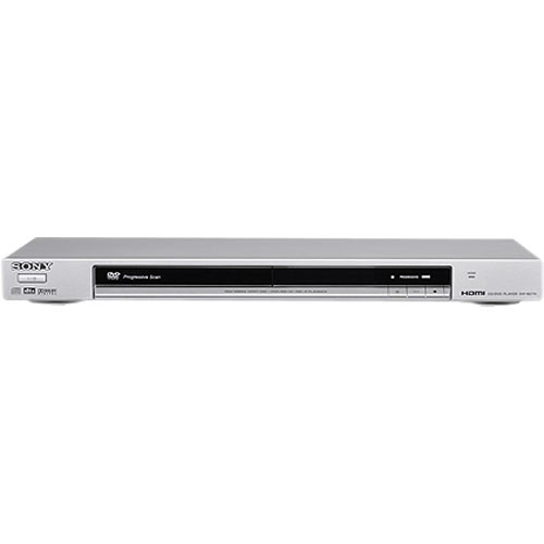 Sony DVP-NS77HS DVD Player - 1080p Upscaling, HDMI, Progressive Scan,  Precision Drive 3 System, Dolby Digital/DTS (Silver)