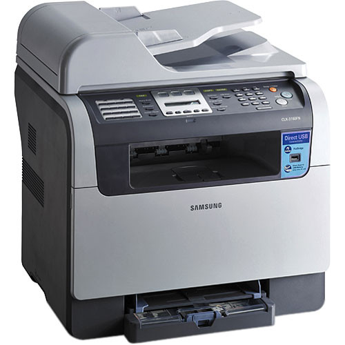 Samsung CLX-3160FN Multifunction Color Laser Printer - USB and Ethernet