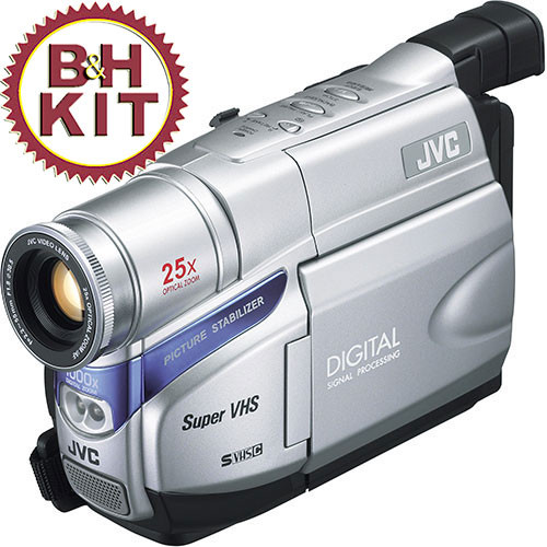 Jvc Gr Sxm38 S Vhs C Camcorder B H Photo Video
