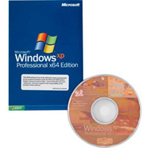 Microsoft Windows XP Professional Edition SP2 Upgrade CD-ROM - OEM - 3-Pack  - 64-Bit