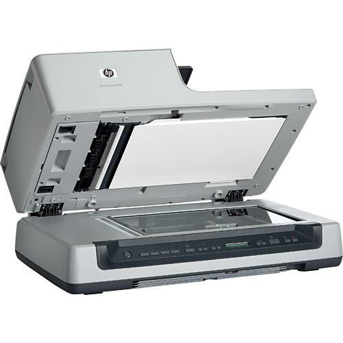 HP Scanjet 8390 4800x4800 dpi, Legal Size, Document Flatbed Scanner with  Duplex Auto Document Feeder and Transparent Materials Adapter