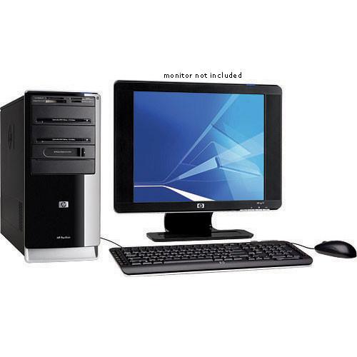HP Pavilion a6119h Desktop Computer - 3GHz Intel Pentium Dual-Core  Processor 925 CPU, 2GB (2x1GB) RAM, 250GB 7200RPM SATA Hard Drive,  LightScribe