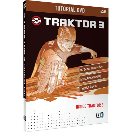 Native Instruments Tutorial DVD for Traktor 3 DJ Software