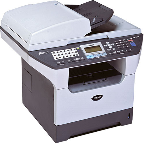 Brother MFC-8860DN Multi-Function Laser Printer with Copier, Scanner, and  Fax - Ethernet, USB and Parallel