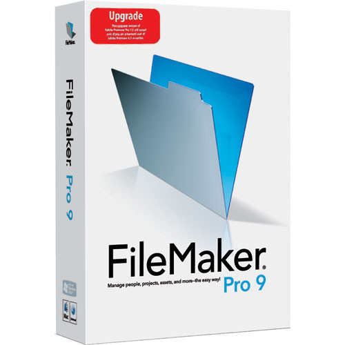 FileMaker Upgrade Filemaker Pro 9 for Mac and Windows