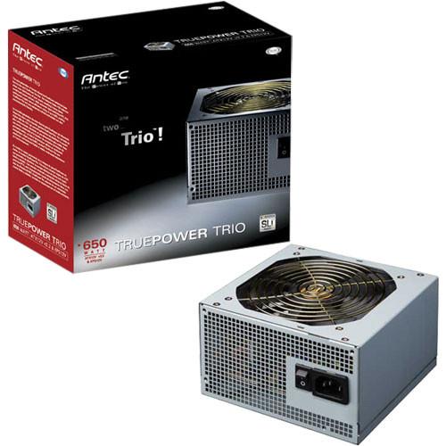 Antec TruePower Trio 650W ATX Power Supply
