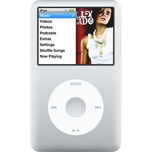 Apple Ipod Classic 80gb Silver Mb029ll A B H Photo Video