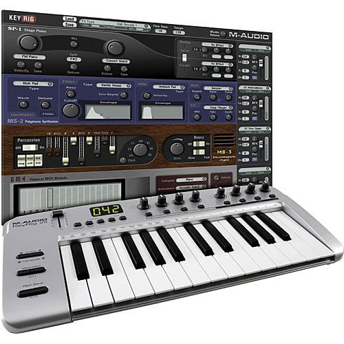 M-Audio KeyRig 25 - USB MIDI Controller 9900-52477-00 B&H Photo