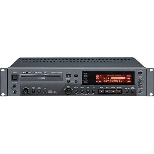 Tascam CD-RW901SL Rack Mount Slot-Loading CD Recorder
