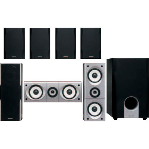 Onkyo DEMO SKS-HT540 Complete 8-Piece Home Theater Speaker System -  consists of: Seven Satellites and 10