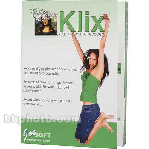 joesoft klix digital picture recovery