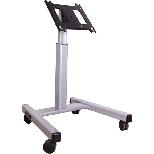 Chief (MFMUS) MFMUS Height Adjustable Mobile Flat-Panel Video Monitor Display Cart (Silver)