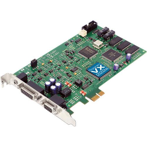 Digigram VX222e - PCIe Digital Audio Card VB1914A0201 B&H Photo