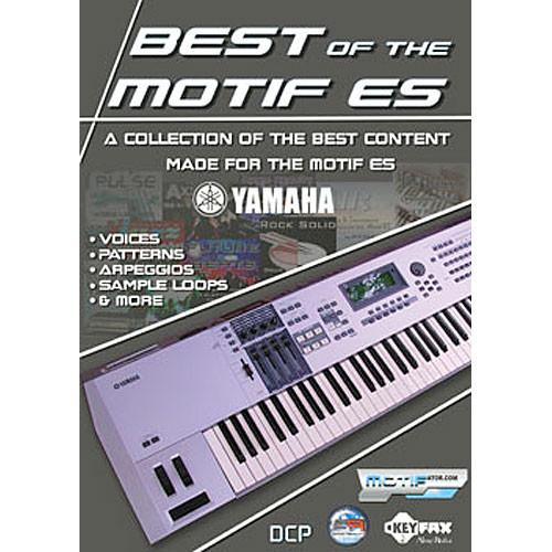 Yamaha Best of the Motif ES - DVD ROM