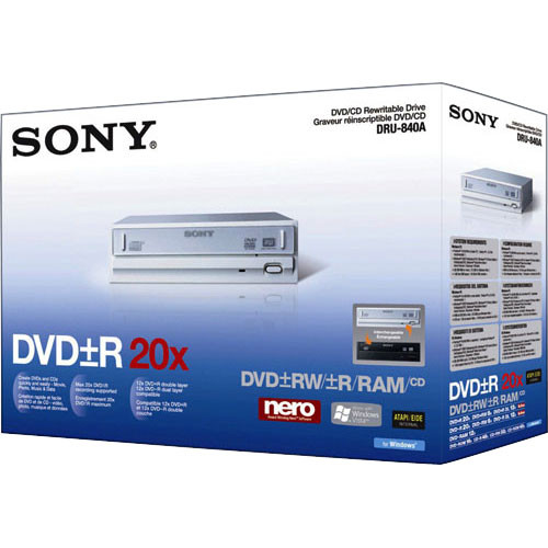 SONY DRU-840A DRIVERS WINDOWS 7