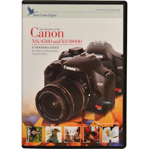 Blue Crane Digital DVD: Canon Rebel XSi (450D)