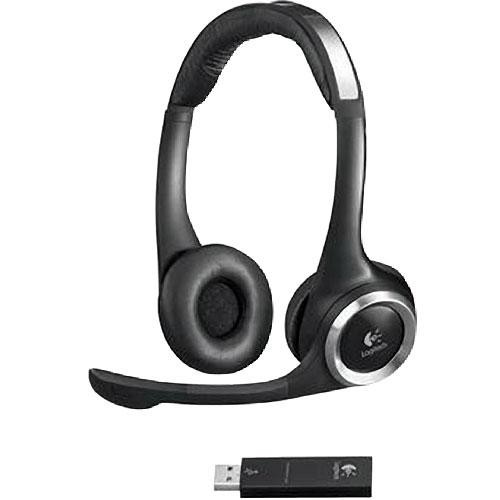 Logitech Clearchat Pc Wireless Headset 981 000068 B H Photo Video